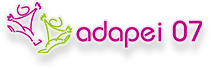 Logotype de l'Adapei 07